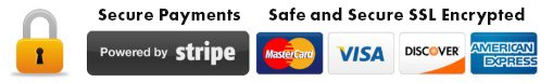Secure Payments. Safe and Secure SSL Encrypted