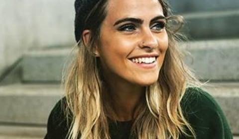 Sarah Mangione Ungeschminkt